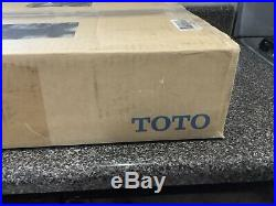 TOTO SW573-01 Washlet S300E Round Bidet Toilet Seat with ewater+, Cotton White