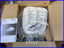 TOTO SW573-01 Washlet S300e Toilet Seat Round with E-Water+ Cotton White
