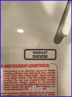 TOTO WASHLET K300 SW3036#01 Cotton White, Elongated