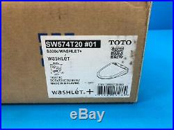 TOTO WASHLET S300e Elongated with ewater+ SW574T20 #01