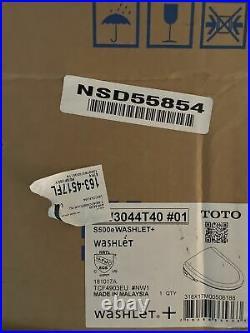 TOTO WASHLET+ S550e Elongated Bidet Toilet Seat