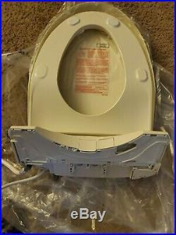 TOTO WASHLET+ S550e Elongated Bidet Toilet Seat SW3056 #12 (Sedona Beige)