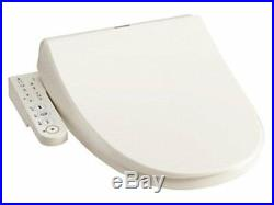 Toshiba Warm Water Cleaning Toilet Seat Clean Wash Pastel Ivory SCS-T160