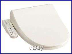 Toshiba warm water washing toilet seat clean wash pastel ivory SCS-T160