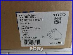 Toto C200 Washlet Electric Bidet Toilet Seat SW2043 TCF6530U White ROUND Bowl