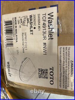 Toto S550E Washlet Elongated Electronic Bidet Seat with Remote OPEN BOX