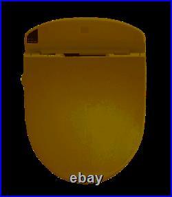 Toto SW843#12 TOTO Washlet E200 Bedit Round Front Toilet Seat Sedona Beige